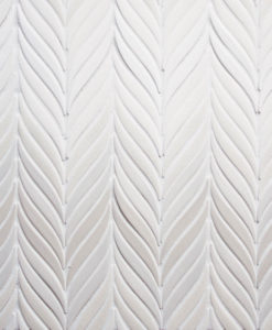 Feather mosaic large ombre
