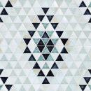 Triangle-Kilim-cobalt-ocean