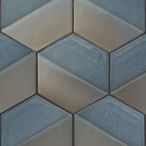 Hexagon 6 Kiss Dip Field Tile Encore Ceramics