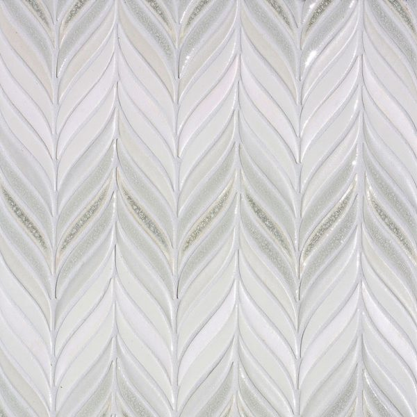 Feather mosaic small ombre
