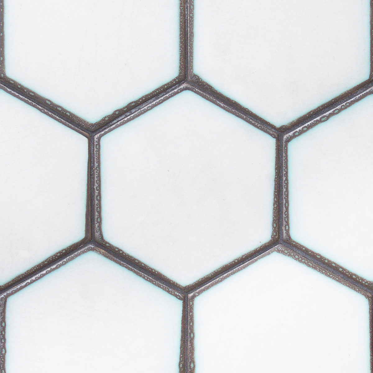 Hexagon 6″ Frame dip field tile – Encore Ceramics